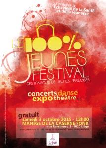 100% jeunes festival 2015 affiche A3 fb